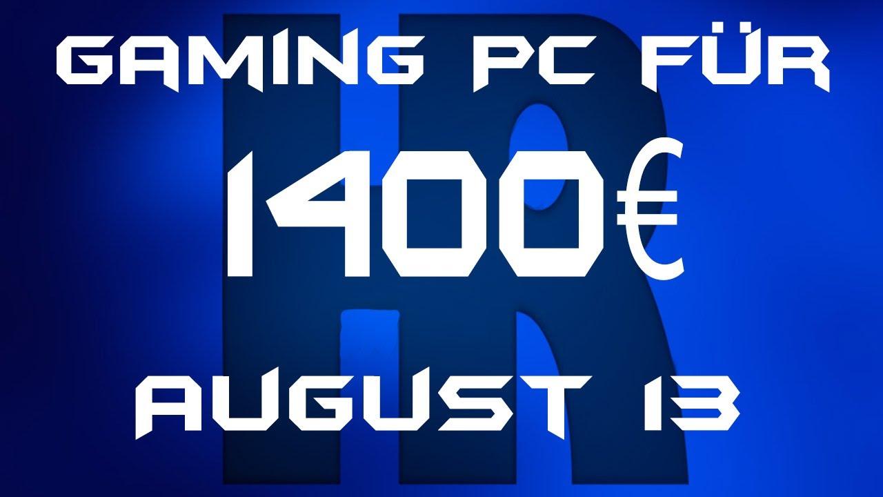 gaming pc 1400 euro