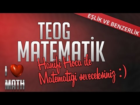 TEOG2 - Eşlik ve Benzerlik - 1 | 8.Sınıf Matematik - Hanifi Hoca