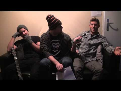 Parkway Drive Interview @ Leipzig, Germany 31.1.2016