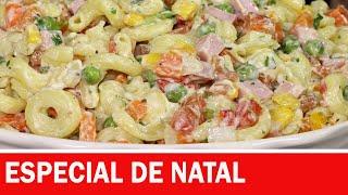 Salada de Macarrão – Cremoso Especial