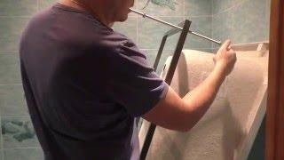 видео Установка акриловой ванны своими руками: пошаговая инструкция