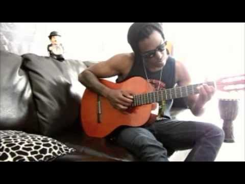 Austin Brown - Playing a little nylon guitar