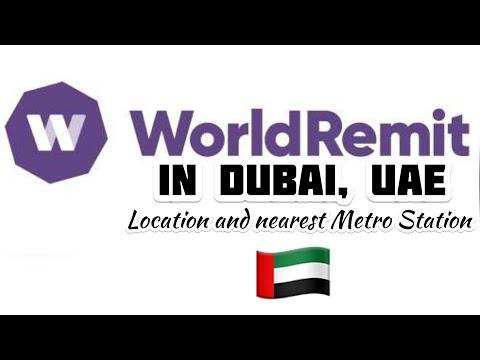 WHERE IS THE WORLD REMIT IN DUBAI? #UAE #Dubailife #pinayvlogger