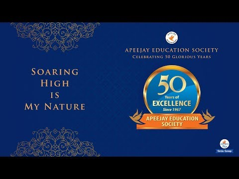 Live Webcast of Golden Jubilee Cultural Extravaganza | Apeejay Education Society