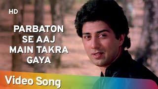 Parbaton Se Aaj Main Takra Gaya   Betaab (1983)   Sunny Deol   Amrita Singh   Anand Bakshi Hits