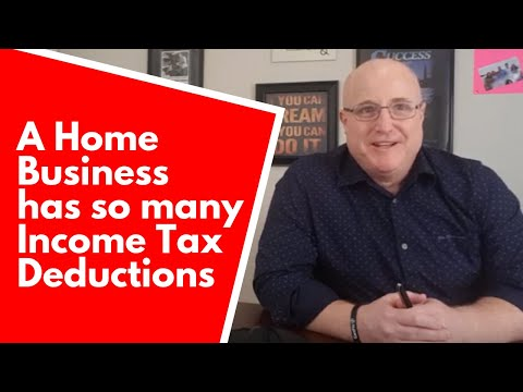 A Home Business Has So Many Income Tax Deductions