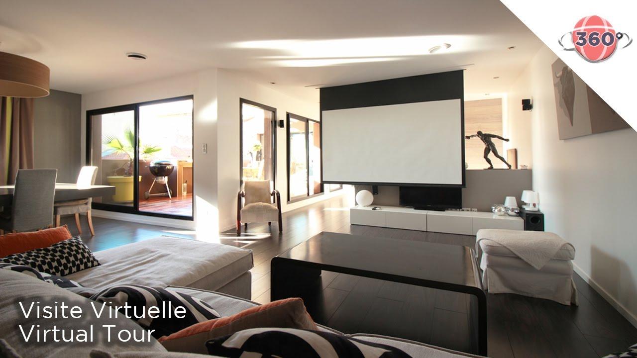 Immobilier - Visite Virtuelle 360° - Maison Thézan - Ref S09 - YouTube