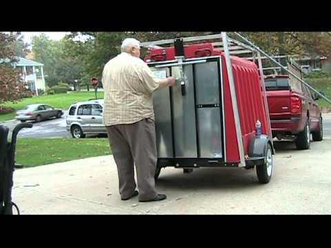 JAZZY POWER WHELLCHAIR AND SCOOTER ENCLOSED TRAILERS 402