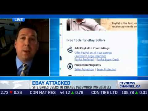 Who Is Behind The Ebay Hacks? CyberSecurity Expert Scott Schober On CTV News