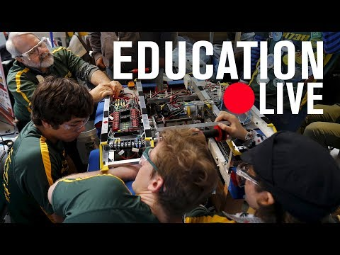Improving career & technical education by reforming high schools/community colleges | LIVE STREAM