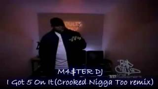 2pac ft Luniz - I Got Five On It(Crooked Nigga Too remix)