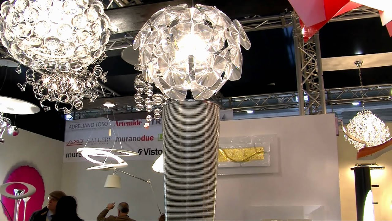 New Lux - Illuminazione e Lampade di Design a Roma - Fiera Casaidea - YouTube