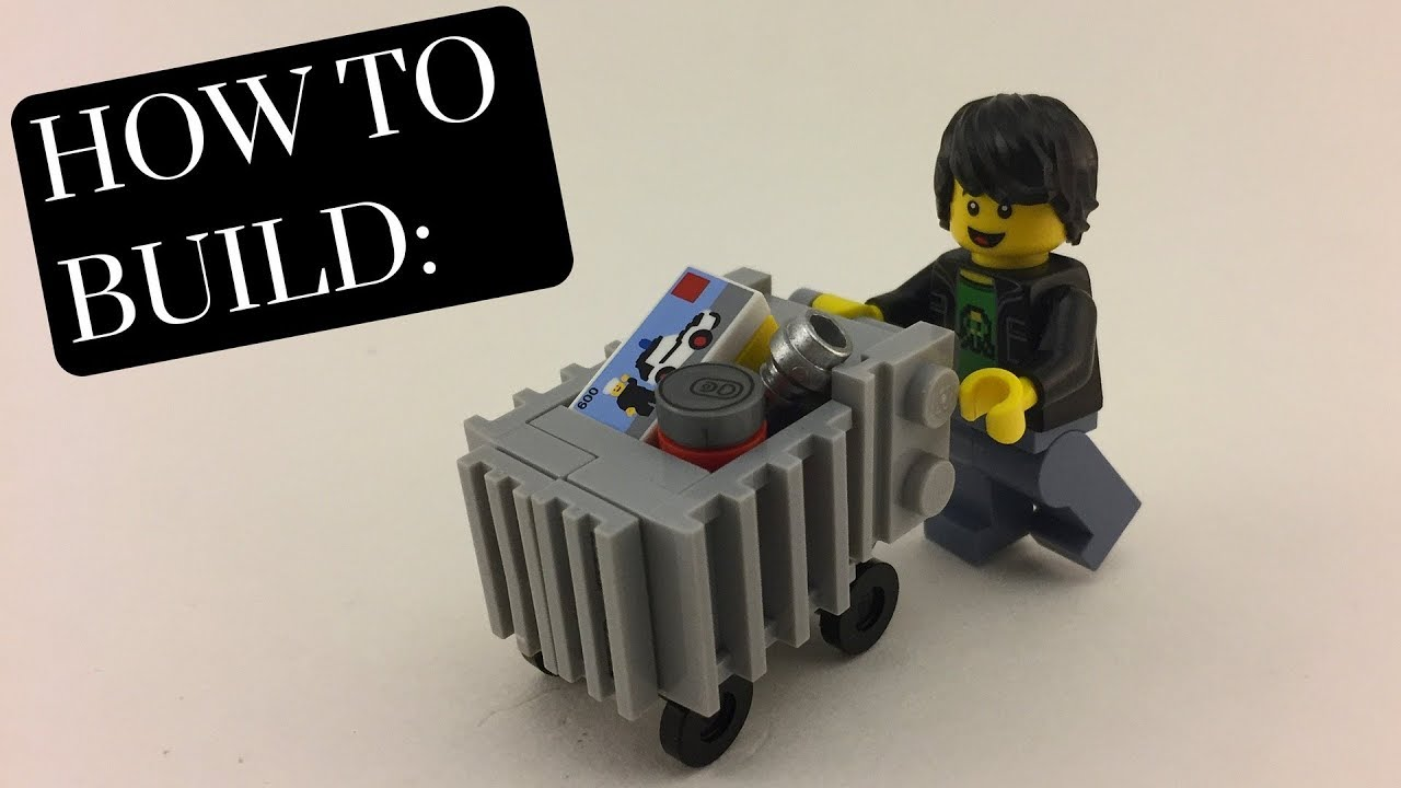 How To Build Lego Shopping Cart Youtube