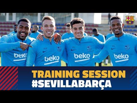 Ready for LaLiga match against Sevilla