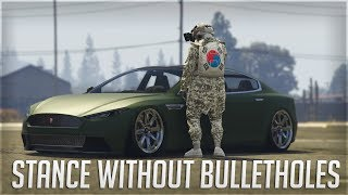 GTA Online 🏎️ Stance any car without bullet-holes! 🏎️ Latest patch