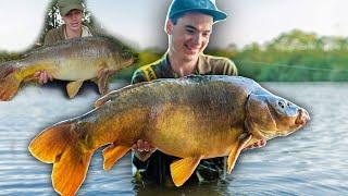 I Caught The Same Fish 6 Years Later...  Carp Fishing At The Estate Lake