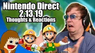 Nintendo Direct 2.13.19 | Reactions & Thoughts