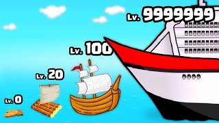 BUILDING a MAX LEVEL RAFT SHIP in Raft Life