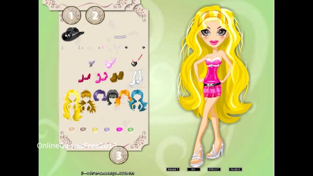 Bratz Games for Girls