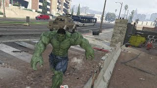 The Hulk vs Abomination - The Hulk Mod - Planet Hulk From Thor Ragnarok - GTA 5 Mods