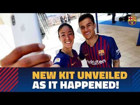 LIVE | EN DIRECTO: Introducing the new 2018/19 FC Barcelona Nike vapor kit
