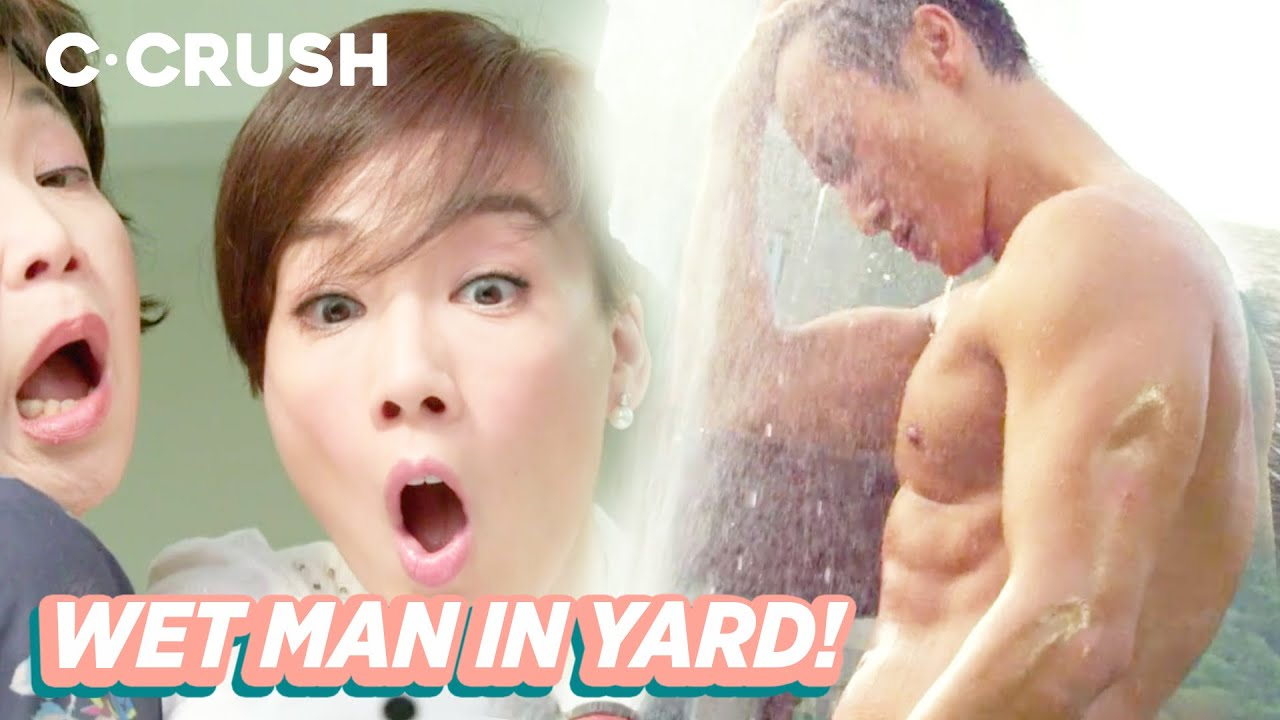 Shirtless Wet Man Makes Housewives Go Crazy! | 湿身肌肉男让主妇欲罢不能 | Kidnap Ding Ding Don