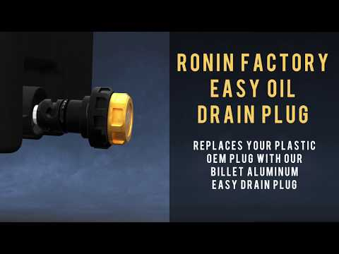 Ronin Factory - Easy Oil Drain Plug for Ford