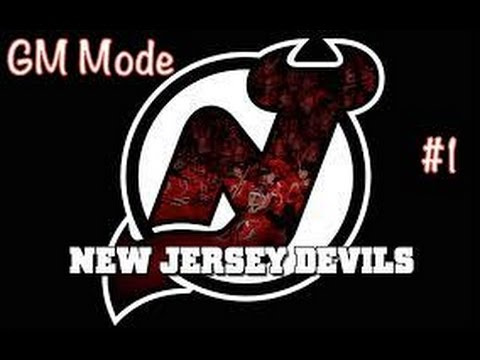 "GM Mode | New Jersey Devils ep. 1 ""Fantasy Draft"""