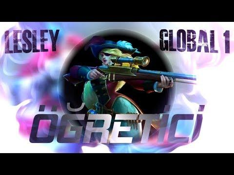 GLOBAL 1 LESLEY ÖĞRETİCİ Part1 ADC | Jin MOBİLE LEGENDS BANG BANG thumbnail