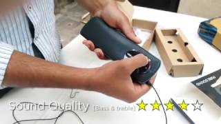 Portronics Pure Sound POR -102 2.0_Portable Speaker System_Unboxing & review