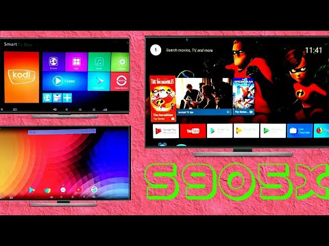 Android TV OS & Pure Android OS On T95X Amlogic S905X