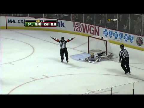 Viktor Stalberg hits all 3 posts 1/5/11