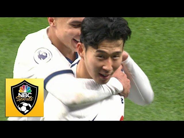 Son Heung-min scores unbelievable solo goal against Burnley | Premier League | NBC Sports