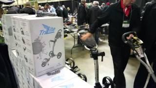 2016 trilite golf push cart