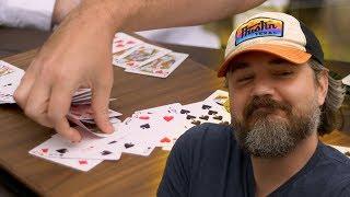 An Open-Face Poker Prank (with Diamond Jim and Rex)