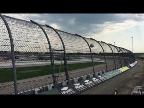 2018 IndyCar Testing at Iowa Speedway