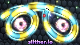 Slither.io New ArcadeGo Skin High Score 86K Slitherio Funny Moments Compilation!