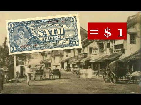 Nilai Rupiah Tertinggi Sepanjang Sejarah