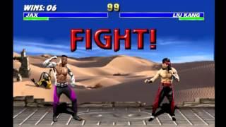 Ultimate Mortal Kombat 3 - Jax (Arcade) thumbnail