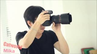 Catworld Mika Model Shoot Video Thumbnail