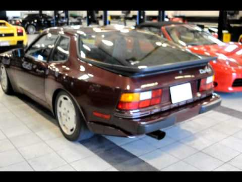 1987 Porsche 944 Turbo - YouTube