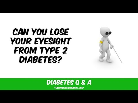 Can Diabetes Type 2 Cause Vision Problems?