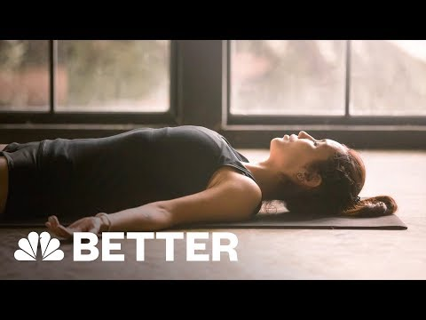 Three Yoga Poses For Better Sleep | Better | NBC News