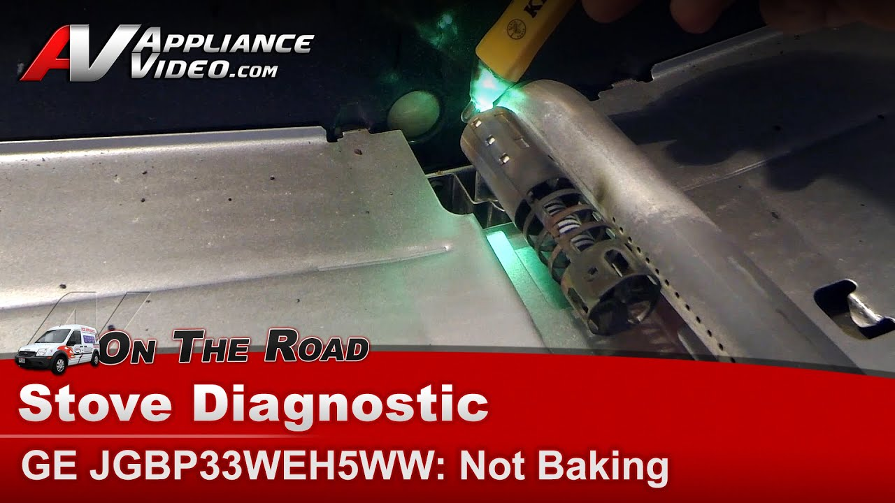 Ge Oven Not Heating Bake Igniter Glow Coil Gas Valve