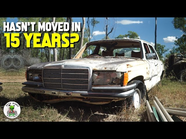 BUSH MECHANICS vs ABANDONED MERCEDES BENZ - Sick Puppy 4x4