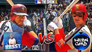 NELSON CRUZ AT 2B?! PLAYER OUT OF POSITION GAME VS KEVINGOHD! MLB THE SHOW 18 DIAMOND DYNASTY