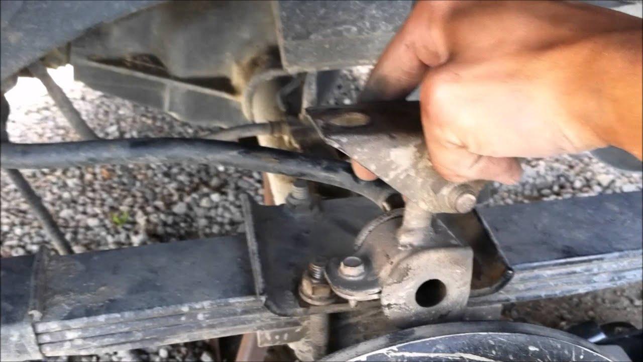 Jeep Cherokee Xj Rear Sway Bar Removal Youtube