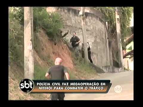 Policiais fazem operação em Niterói e São Gonçalo