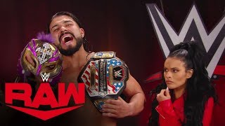 Rey Mysterio attacks Andrade for ripping off his mask: Raw, Jan. 6, 2020