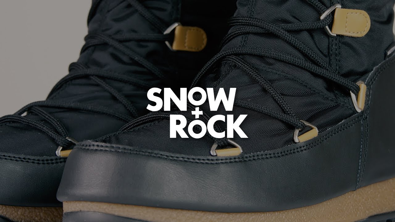 classic fit 4bdeb 52312 Moon Boot Monaco Felt 2018 Women's Winter Boots Overview by Snow+Rock